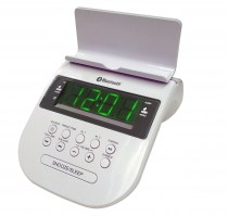 BT 80 Bed room clock radio with bluetooth